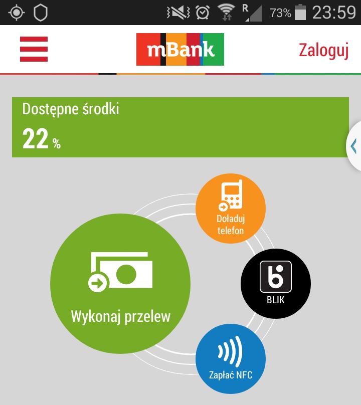 bankowa aplikacja