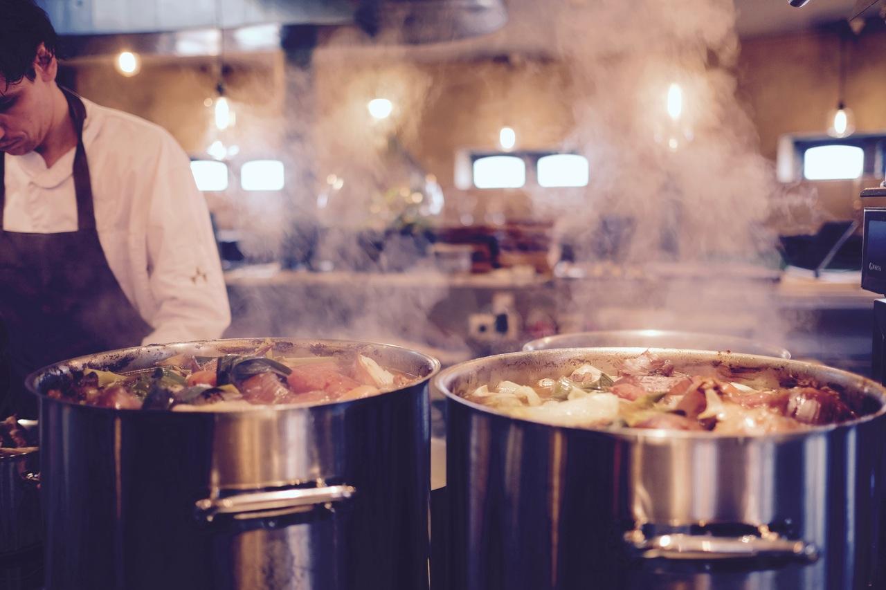kuchnia w hotelu