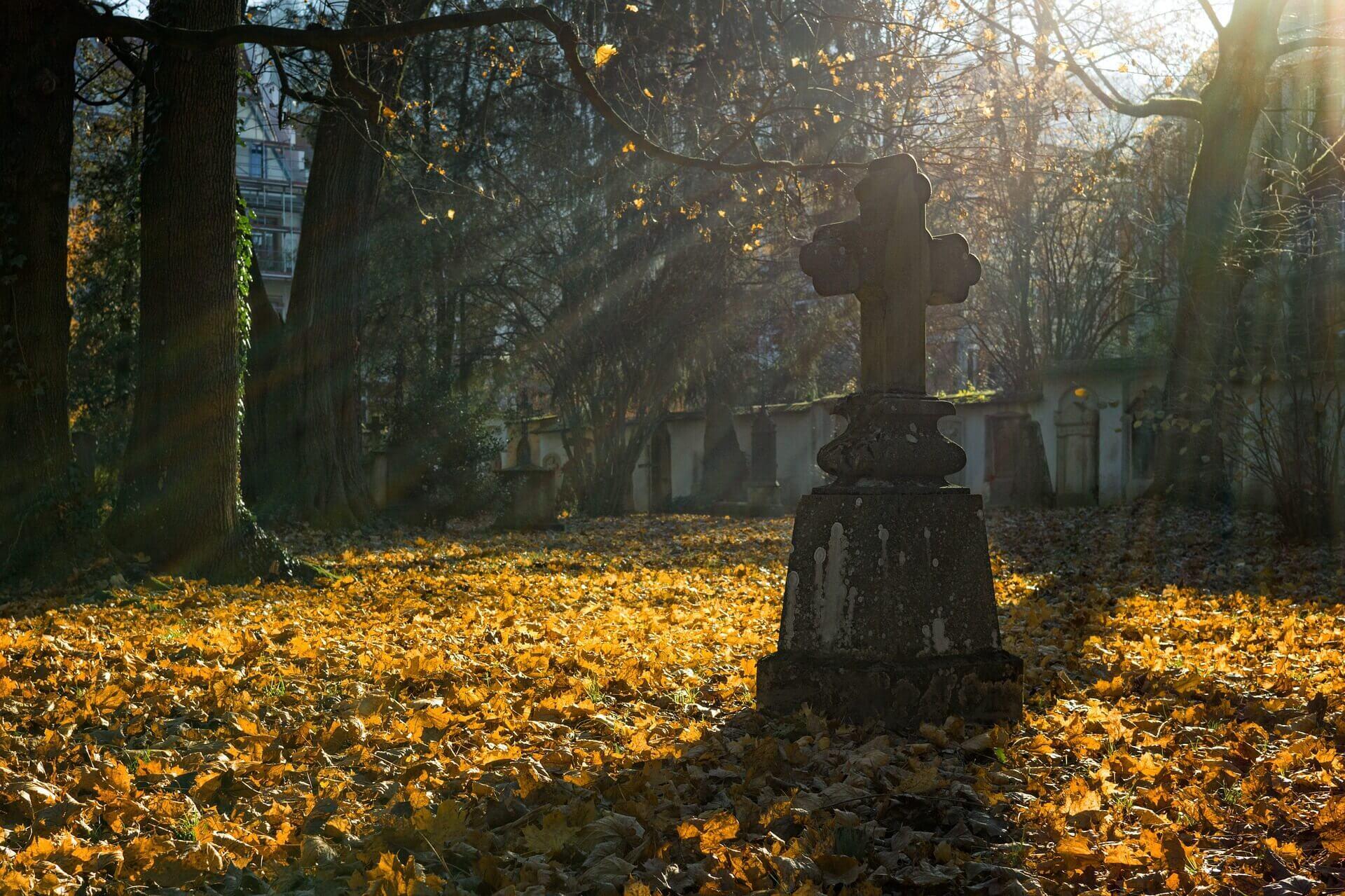 Pomnik na cmentarzu